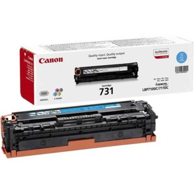Canon Cartridge 731 Cy - originální - Cyan na 1500 stran(011-03911)