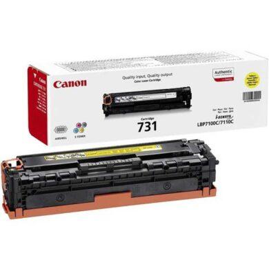 Canon Cartridge 731 Ye - originální - Yellow na 1500 stran(011-03913)