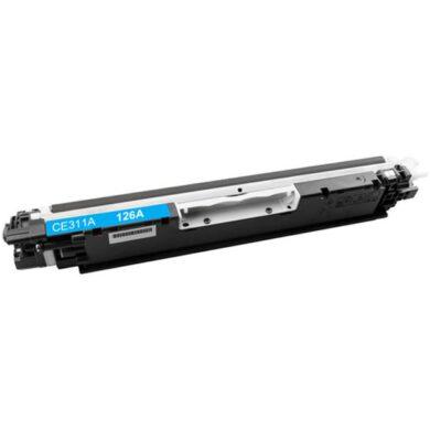 HP CE311A (126A) - kompatibilní - Cyan na 1000 stran(011-03991)