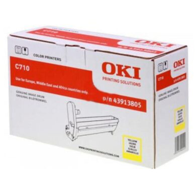 OKI 43913805 (EP-CART-Y-C710) - originální - Fotojednotka YE na 15000 stran(011-04103)