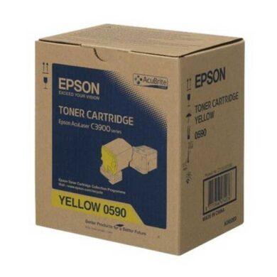 Epson S050590 YE toner 6K pro C3900/CX37 yellow(011-04603)