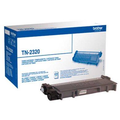 Brother TN-2320 - originální - Černá velkoobjemová na 2600 stran(011-04651)