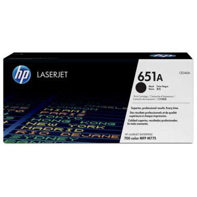 HP CE340A (651A) - originální - Černá na 13500 stran(011-04690)