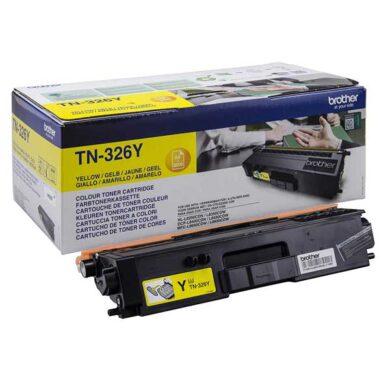 Brother TN-326Y - originální - Yellow velkoobjemová na 3500 stran(011-04703)