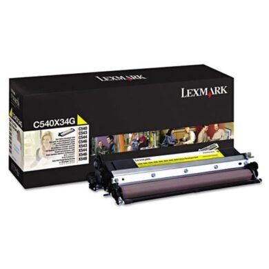 Lexmark C540X34G YE developer pro C540/C543/C544 - originální(011-04793)