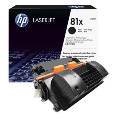 HP CF281X (81X) - originální - Černá velkoobjemová na 25000 stran(011-04821)