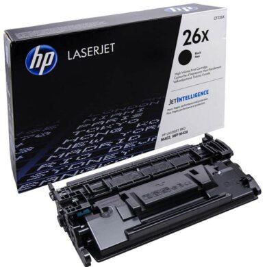 HP CF226X (26X) - originální - Černá velkoobjemová na 9000 stran(011-04826)