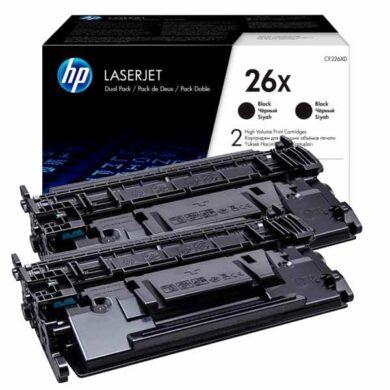 HP CF226XD (26XD) toner 2x 9K pro M402/M426(011-04828)