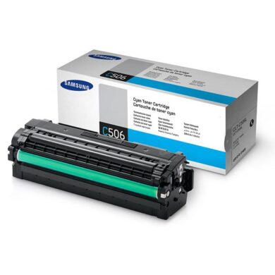 Samsung CLT-C506L - originální - Cyan velkoobjemová na 3500 stran(011-04856)
