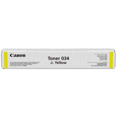 Canon 034 Y toner - originální - Yellow na 7300 stran(011-04993)