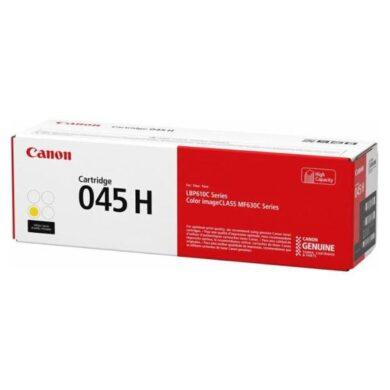 Canon 045H Y toner - originální - Yellow velkoobjemová na 2200 stran(011-05608)