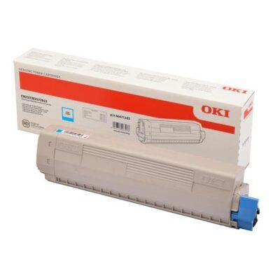 OKI C823C toner 7k pro C823/C833/C843 cyan(011-05651)