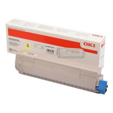 OKI C823Y toner 7k pro C823/C833/C843 yellow(011-05653)