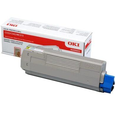 OKI C532Y toner 1k5 pro C532/C542/MC573 yellow(011-05678)