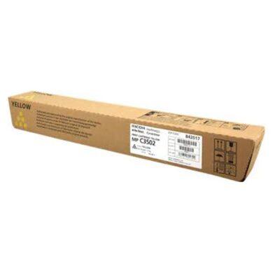 Ricoh MPC3502Y toner 18k pro MPC3002/MPC3502 yellow PN841740(011-05813)