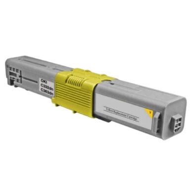OKI C332HC (46508709) - kompatibilní - Yellow na 3000 stran(011-06023)