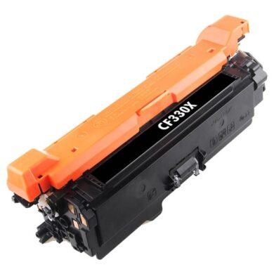 HP CF330X (654X) - kompatibilní - Černá velkoobjemová na 20500 stran pro M651(011-06045)