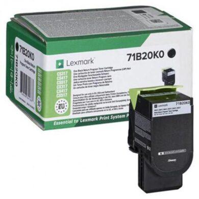 Lexmark 71B20K0 BK toner 3k pro CX317/CX417/CX517 black(011-06160)