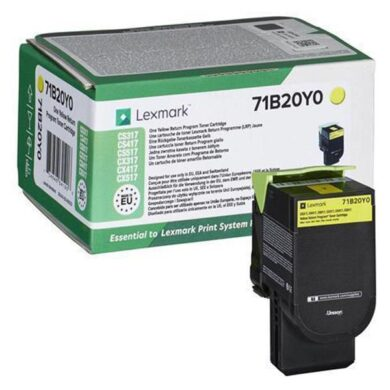 Lexmark 71B20Y0 YE toner 2k3 pro CX317/CX417/CX517 yelow(011-06163)