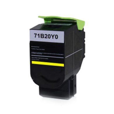 Lexmark 71B20Y0 - kompatibilní - Yellow na 2300 stran(011-06168)