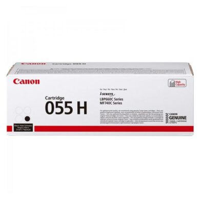CANON CRG 055H BK toner 7k6 pro LBP663/LBP664/MF742/MF744 black(011-06210)