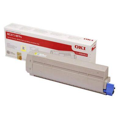 OKI MC873-YE toner 10k pro MC873 yellow PN45862814(011-06873)
