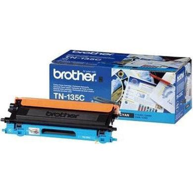 Brother TN-135C - originální - Cyan velkoobjemová na 4000 stran(012-00821)