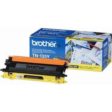 Brother TN-135Y - originální - Yellow velkoobjemová na 4000 stran(012-00823)