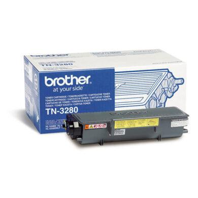 Brother TN-3280 - originální - Černá velkoobjemová na 8000 stran(012-00850)