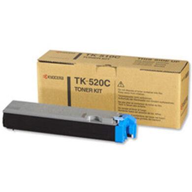Kyocera TK-520C pro FS C5015, 4K toner cyan - originální(012-00911)