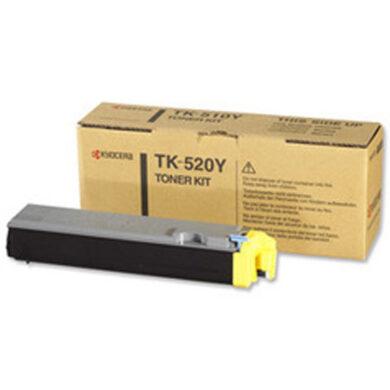Kyocera TK-520Y pro FS C5015, 4K toner yellow - originální(012-00913)