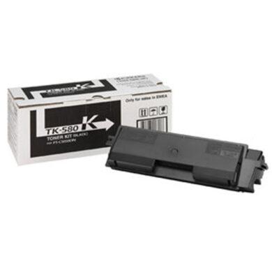 Kyocera TK-580K pro FS C5150, 3,5K toner black - originální(012-00940)