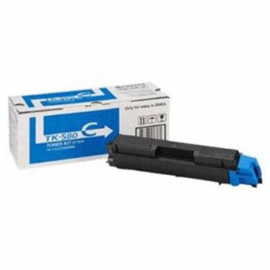 Kyocera TK-580C pro FS C5150, 2,8K toner cyan - originální(012-00941)