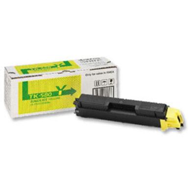 Kyocera TK-580Y pro FS C5150, 2,8K toner yellow - originální(012-00943)