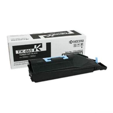 Kyocera TK-865K pro TASKalfa 250/300, toner black - originální(012-00970)