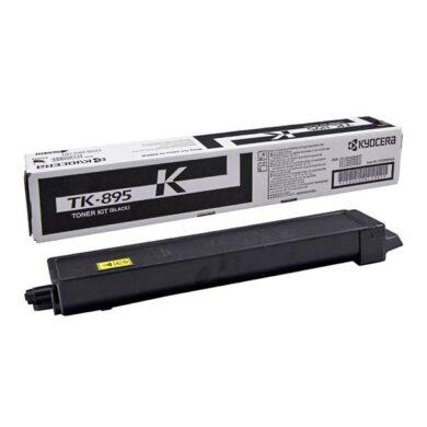 Kyocera TK-895K toner 12K pro C8020/C8025 black - originální(012-01090)