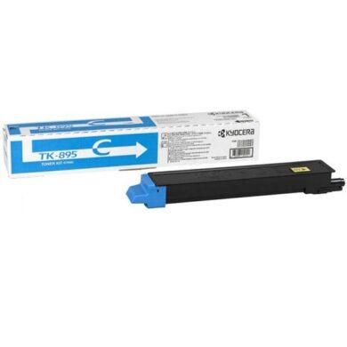 Kyocera TK-895C toner 6K pro C8020/C8025 cyan - originální(012-01091)