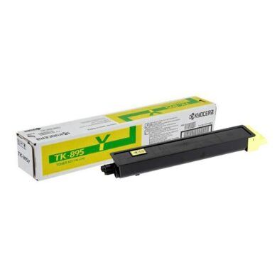Kyocera TK-895Y toner 6K pro C8020/C8025 yellow - originální(012-01093)