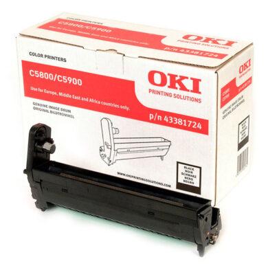 OKI 43381724 (EP-CART-K-C5800/5900) - originální - Fotojednotka BK na 20K stran(015-00960)