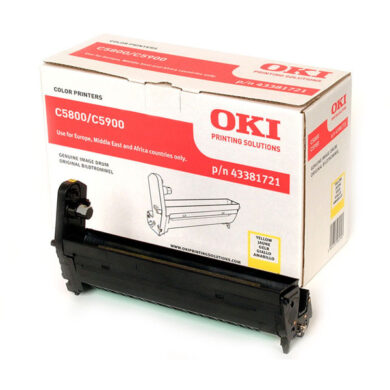OKI 43381721 (EP-CART-Y-C5800/5900) - originální - Fotojednotka YE na 20K stran(015-00963)