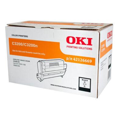OKI 42126665 (EP-CART-K-C3200) - originální - Fotojednotka BK na 14000 stran(015-00970)