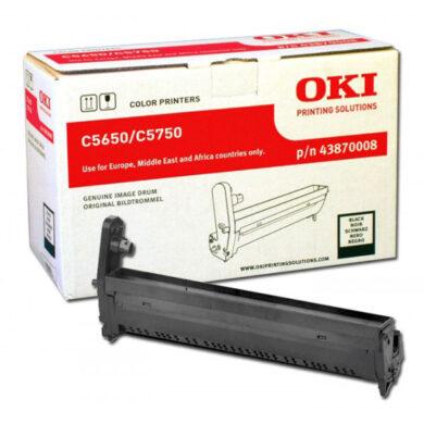 OKI 43870008 (EP-CART-K-C5650/5750) - originální - Fotojednotka BK na 20K stran(015-00980)