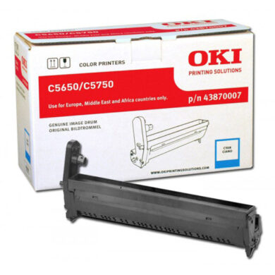 OKI 43870007 (EP-CART-C-C5650/5750) - originální - Fotojednotka CY na 20K stran(015-00981)
