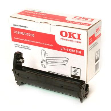OKI 43381708 (EP-CART-K-C5600/5700) - originální - Fotojednotka BK na 20K stran(015-01050)