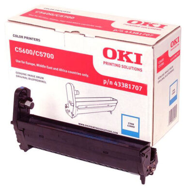 OKI 43381707 (EP-CART-C-C5600/5700) - originální - Fotojednotka CY na 20K stran(015-01051)