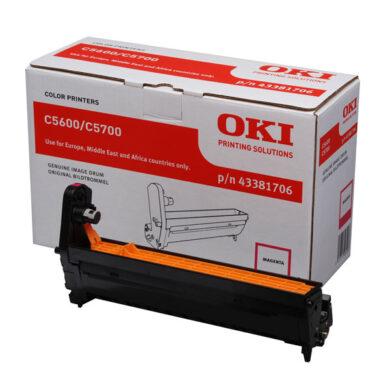 OKI 43381706 (EP-CART-M-C5600/5700) - originální - Fotojednotka MA na 20K stran(015-01052)