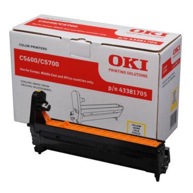 OKI 43381705 (EP-CART-Y-C5600/5700) - originální - Fotojednotka YE na 20K stran(015-01053)