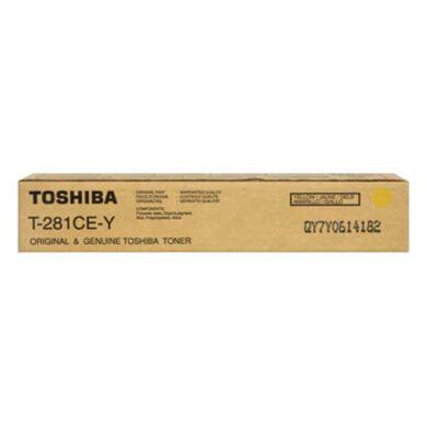 Toshiba T-281-Y toner pro e-Studio 281/351/451 - originální(022-02083)
