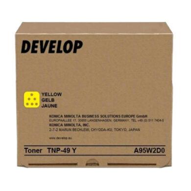 DEVELOP TN-49Y toner 12k pro ineo 3351/3851 (A95W2D0) yellow(022-02163)