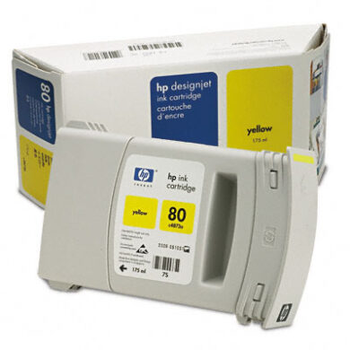 HP C4873A č.80 Magen. pro DJ105xCM 175ml - originální(031-02102)